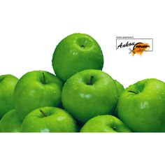 Render Pommes Granny Smith Verte - Fruits/Légumes - Aliments - PNG... via Polyvore