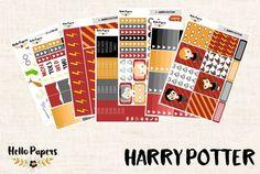Full Kit - Harry Potter - Erin Condren Vertical - Planner Stickers