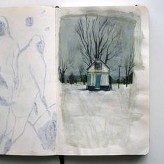 Sketchbook: Lars Henkel | Book By Its Cover