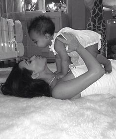 Kim K. gushes about baby North's growing style