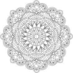 ԑ̮̑♦̮̑ɜ~Mandala para Colorear~ԑ̮̑♦̮̑ɜ by MerakiColoringDesign                                                                                                                                                                                 Más
