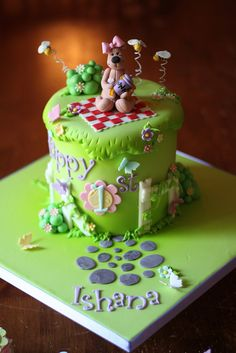 """6"""" cutting cake by Andrea's SweetCakes, via Flickr"""