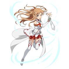 Asuna Sao, Arte Online, Online Art, Sao Characters, Female Characters, Sword Art Online Wallpaper, Pixel Animation, Sword Art Online Kirito, Online Anime