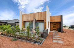 สร้างบ้านชั้นเดียว เรียบง่าย แต่มีดีไซน์ «  บ้านไอเดีย แบบบ้าน ตกแต่งบ้าน เว็บไซต์เพื่อบ้านคุณ Modern Loft, Cabin, House Styles, Home Decor, Decoration Home, Room Decor, Cabins, Modern Lofts, Cottage