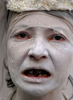 Butoh, via Flickr  Anti war protestor,