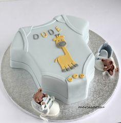 Marsispossu: Kakku vauvakutsuille, Baby shower cake