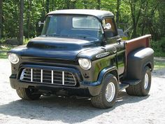 Chevy trucks aficionados are not just after the newer trucks built by Chevrolet. They are also into oldies but goodies trucks that have been magnificently preserved for long years. Hot Rod Trucks, Cool Trucks, Chevy Trucks, Pickup Trucks, Gmc Pickup, Lifted Trucks, Rat Rods, Custom Trucks, Custom Cars