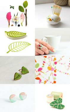 Hello, Spring! by Lena Baymut on Etsy--Pinned with TreasuryPin.com