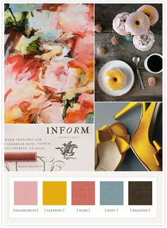 Colorboard #34: Spring is here! from 100 Layer Cake