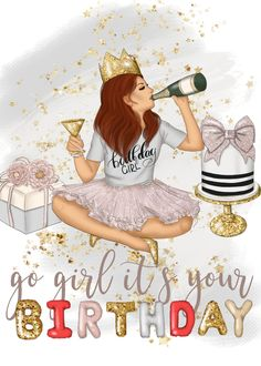 Niece Birthday Wishes, Happy Birthday Black, Happy Birthday Woman, Happy Birthday Wishes Quotes, Birthday Blessings, Today Is My Birthday, It's Your Birthday, Happy Birthday Images, Happy Birthday Greetings