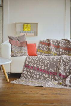 Deka Silvretta travel (hnedá) Toddler Bed, Pillow Covers, Bar, Pillows, Austria, Interior, Blankets, Adventure, Furniture