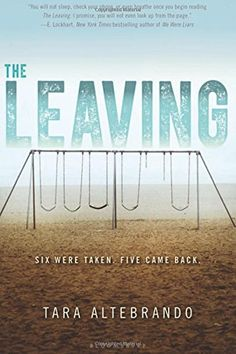 The Leaving by Tara Altebrando Eleven years ago, six kindergarteners went missing without a trace. Today five of those kids return. They're sixteen, and they are . fine, except no one can entirely recall where they've been or what happened to them. Ya Books, I Love Books, Great Books, Books To Read, Teen Books, Beginning Reading, Reading Lists, Book Lists, Reading Books