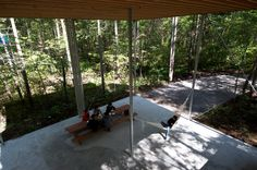 Go Hasegawa - House in a forest, Nagano 2006