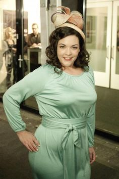 Dutch singer Caro Emerald; she has such a lovely voice and a curvacious body.