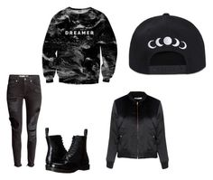 """""""Untitled #21"""" by directioner-792 on Polyvore featuring Mr. Gugu & Miss Go, Glamorous and Dr. Martens"""