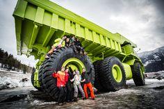 Big truck in Sparwood, B.C.