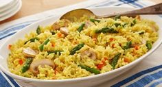 Add Zatarain's Yellow Rice to the tasty flavors of chicken, broccoli and cheddar cheese for an easy-to-make, one-pot meal.