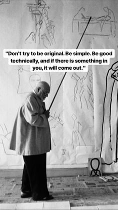 Every art student needs to hear these words. That feeling when a phrase just smoothens a way into something. Great Quotes, Quotes To Live By, Me Quotes, Motivational Quotes, Inspirational Quotes, Wisdom Quotes, The Words, Cool Words, Art Quotes Artists