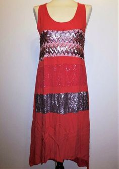 * * * Planet Sommerkleid Kaftan rot mit Pailletten, ca.Gr.36 * * * Kaftan, Formal Dresses, Ebay, Fashion, Clothing Accessories, Sequins, Red, Summer, Gowns