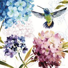 Spring Nectar Square III Arte por Lisa Audit en AllPosters.es