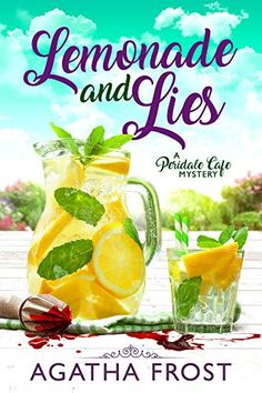 Lemonade and Lies (Peridale Cafe Cozy Mystery Book by Agatha Frost - Pink Tree Publishing LTD Mystery Series, Mystery Books, Mystery Thriller, Time Travel Series, Pink Trees, Cozy Mysteries, Romance Books, Lemonade, Frost