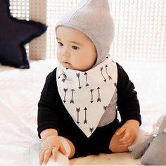 >> Click to Buy <<  BABY BIBS 100% Cotton Baberos Bandana Triangle Bibs Saliva Towel Waterproof Boy Girls Infant Towels Bibs For Babies #Affiliate