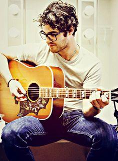 Darren Criss.  offensively attractive.