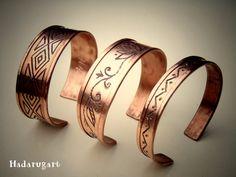 Bratari handmade din cupru by hadarugart