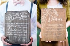 Defining rustic wedding style and the distinctive details that make a wedding rustic including mason jars, boots, barns, wooden signs and homemade food.