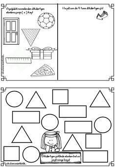 Classroom Activities, Preschool Activities, Special Education, Worksheets, Kindergarten, Homeschool, Diagram, Shapes, Tans