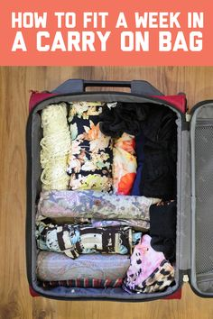 The art of packing lightly: How to fit a week in a carry on bag / A Globe Well Travelled