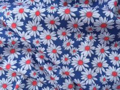 Daisy Bloom Rayon and Spandex Dress Fabric