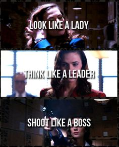Agent Peggy Carter, everyone.