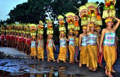 Ceremonies in Bali - Indonesia