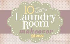 10 laundry room makeovers -- enjoy~