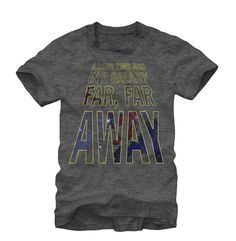 Star Wars - A Long Time Ago In A Galaxy Far, Far Away T-Shirt #StarWars