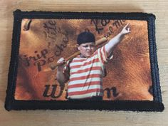 The Sandlot, Morale Patch, Photo Quality, Hamilton, Patches, Guns, Backpacks, Embroidery, Baseball