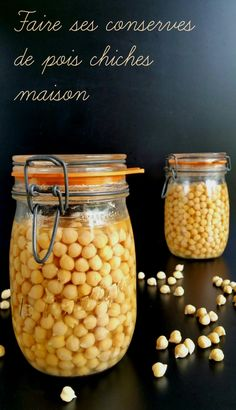 How to make homemade chickpeas: why and how? - Recettes de Cuisine et boissons - Raw Food Recipes Raw Food Recipes, Veggie Recipes, Brunch Recipes, Healthy Recipes, Vegetarian Day, Vegetarian Recipes, Chutney, Heart Healthy Breakfast, Pickles