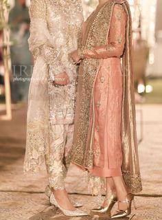 Desi Wedding Dresses, Pakistani Formal Dresses, Nikkah Dress, Pakistani Dress Design, Pakistani Couture, Pakistani Fashion Party Wear, Pakistani Wedding Outfits, Indian Bridal Outfits, Pakistani Wedding Dresses