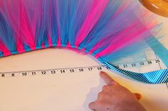 ribbon tutu measurements. use for any size child, good clear instructions.