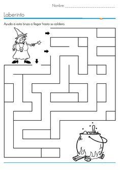 Halloween worksheets for kids   Crafts and Worksheets for Preschool,Toddler and Kindergarten Halloween Labyrinth, Halloween Maze, Halloween Trees, Fall Halloween, Bricolage Halloween, Maze Worksheet, Halloween Crafts For Toddlers, Kids Crafts, Halloween Preschool Activities