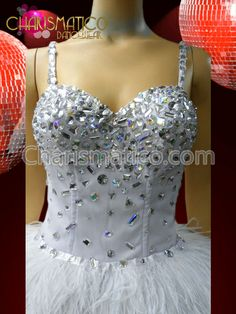 Charismatico Dancewear Store - CHARISMATICO Iridescent Crystal Embellished White Swan Lake Ballet Style Feathered Dress, $270.00 (http://www.charismatico-dancewear.com/products/CHARISMATICO-Iridescent-Crystal-Embellished-White-Swan-Lake-Ballet-Style-Feathered-Dress.html)