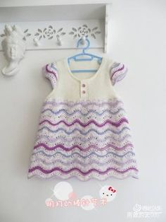 Little dress with diagram