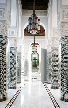 La Mamounia hotel in Marrakech, photographed by Noa Griffel