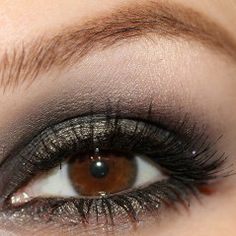The smokey eye is a hot look right now. Everyone wants it - check out our step-by-step tutorial and find some great eyeshadow palettes to make it even easier. http://iwanttobeamakeupartist.com/perfect-smokey-eye.html