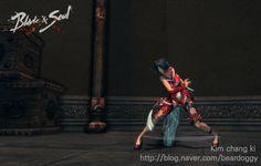번개베기 Blade & Soul Blade Master Skill B&S 블소 블레이드앤소울 剑灵 검사 스킬 애니메이션
