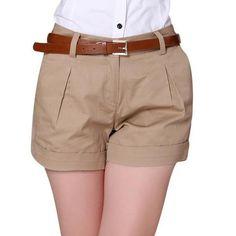 2016 Korea Summer Woman Cotton Shorts Size S-2XL New Fashion Design Lady Casual…
