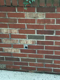 Brick wall with lines