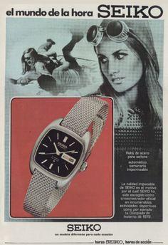 Publicidad SEIKO años 70