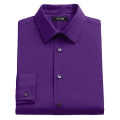 Men's Apt. 9 Slim-Fit Solid Stretch Dress Shirt